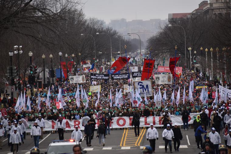 The 2020 March for Life in Washington, D.C.