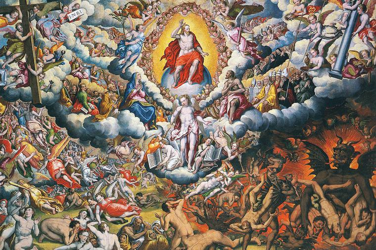 "Ercole Ramazzani, ""The Last Judgment,"" 1597"