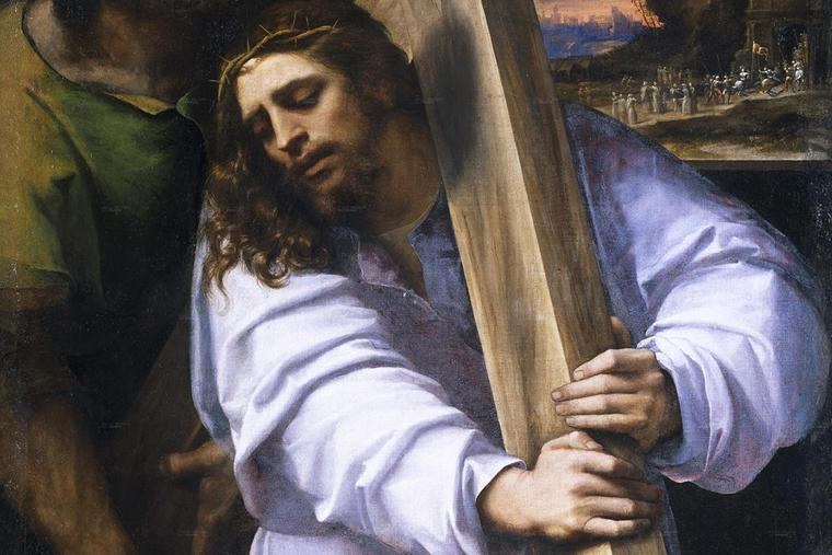 "Sebastiano del Piombo, ""Christ Carrying the Cross,"" c. 1516"