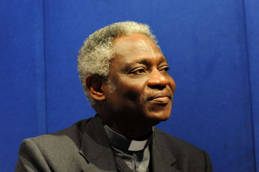 Cardinal Peter Turkson, prefect of the Dicastery for Promoting Integral Human Development, in London, England, on March 14, 2011.