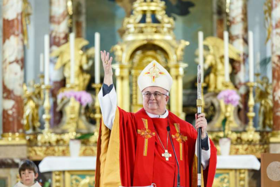 Bishop Denis Theurillat, auxiliary bishop of Basel, Switzerland, from 2000 to 2021.
