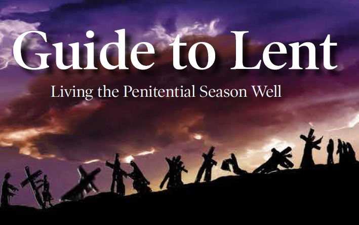 Are you looking for ideas for Lent?