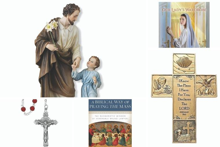 A variety of gifts, including books, are available from EWTN Religious Catalogue.