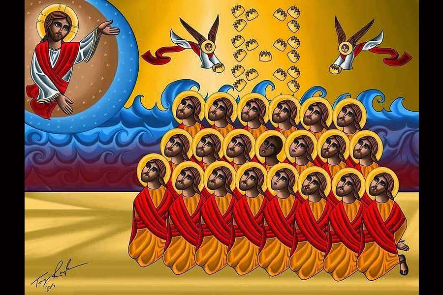 Icon of the 21 Martyrs of Libya.