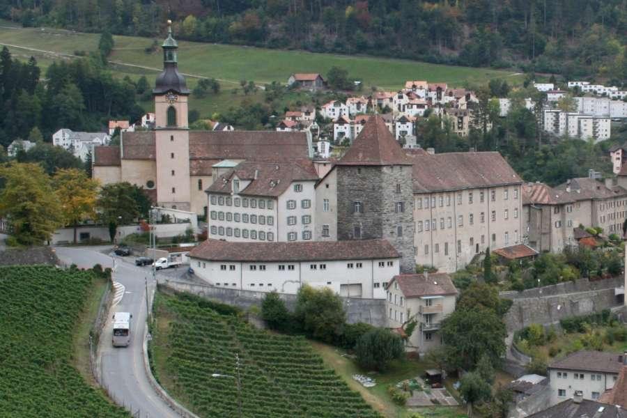 Chur Cathedral in Switzerland.