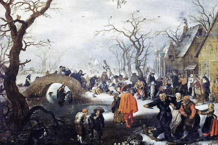 "Adriaen van de Venne, ""Shrove Tuesday in the Country,"" c. 1625"