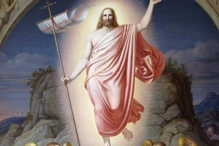 "Johan Ludwig Lund (1777-1867), ""The Resurrection of Christ""."