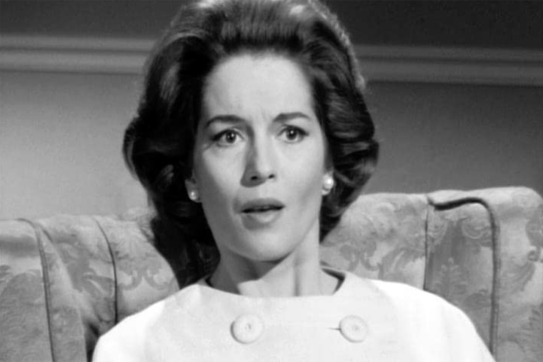 Barbara Shelley in 'The Saint' (1962)