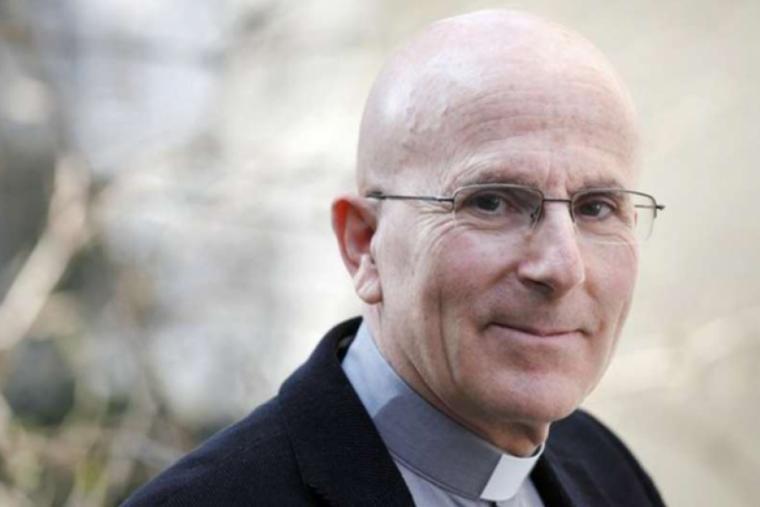 Bishop-elect Joseph Bonnemain of Chur, Switzerland.