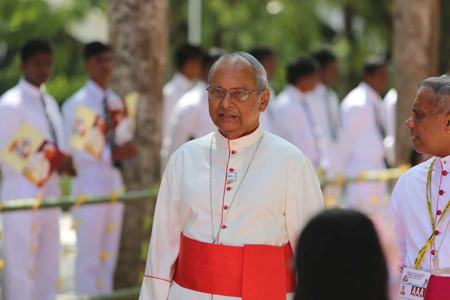 Cardinal Malcolm Ranjith of Colombo in his cathedral city, Jan. 13, 2015.