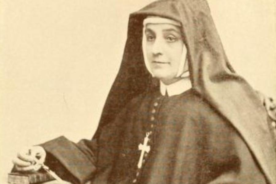 The Venerable Cornelia Connelly (1809-1879), pictured around 1877.