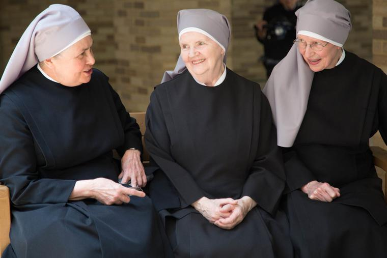 The Little Sisters of the Poor.