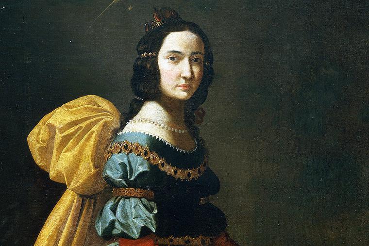 """Francisco de Zurbarán, """"St. Elizabeth of Portugal,"""" c. 1635"""
