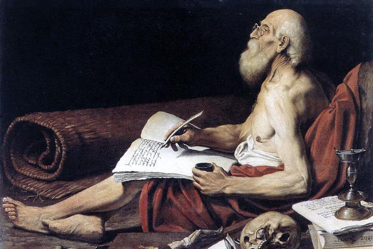 "Lionello Spada, ""Saint Jerome,"" c. 1611"