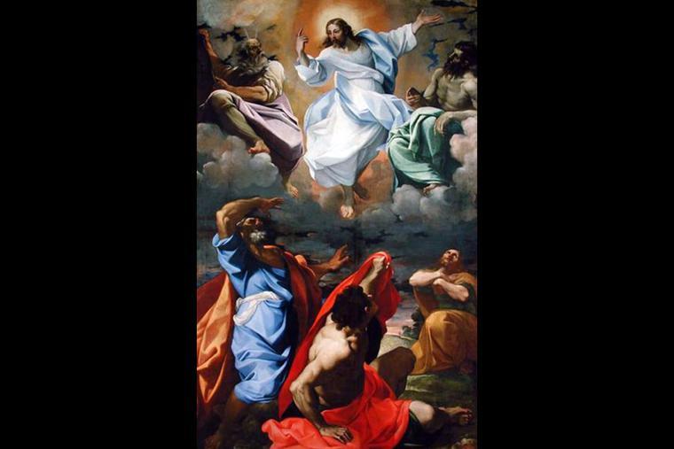 """Lodovico Carracci, """"The Transfiguration,"""" 1594"""