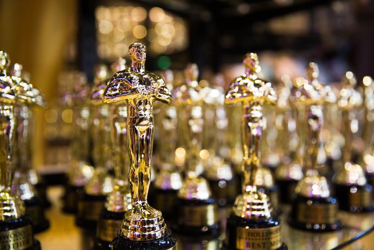 Oscars on display in Los Angeles, Calif.