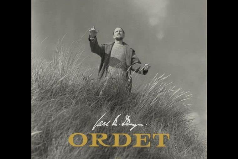 Detail of an Ordet movie poster
