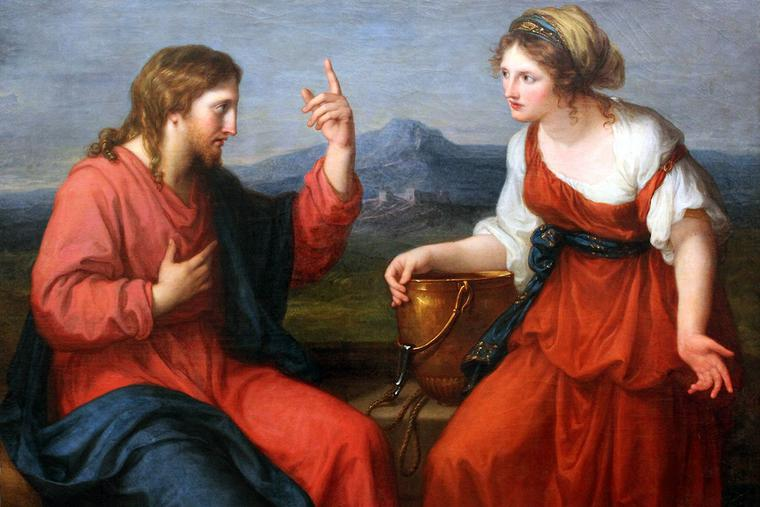 "Angelica Kauffman, ""Christ and the Samaritan Woman at the Well,"" 1796"