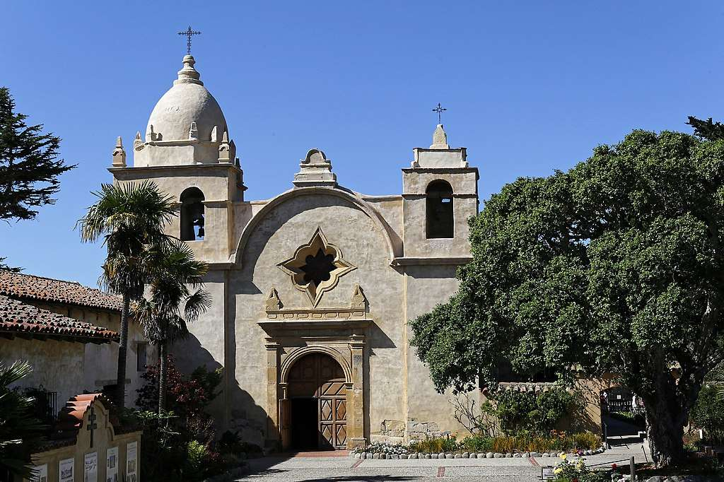 Mission San Carlos Borromeo de Carmelo, in Carmel-by-the-Sea, Calif.