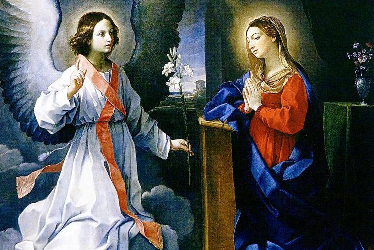 """Guido Reni, """"The Annunciation,"""" 1629"""