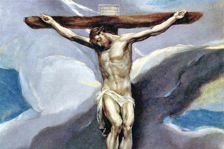 "El Greco, ""Christ on the Cross,"" 1577-1579"
