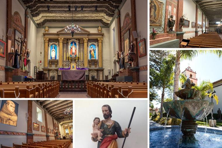 Renovations, including lighting and a repaired St. Joseph statue, can be seen at the mission, which was recently named a minor basilica by Pope Francis.