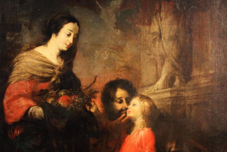 MICHAEL WILLMAN, THE KISS OF SAINT JOSEPH, C. 1675