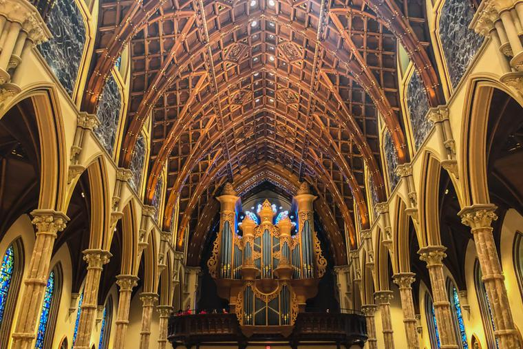 Holy Name Cathedral in Chicago, Ill., mother church of the Archdiocese of Chicago