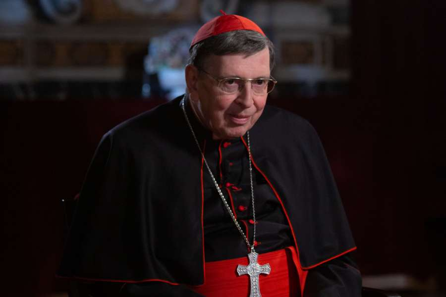 Cardinal Kurt Koch, president of the Pontifical Council for Promoting Christian Unity, in Rome on Oct. 23, 2019.
