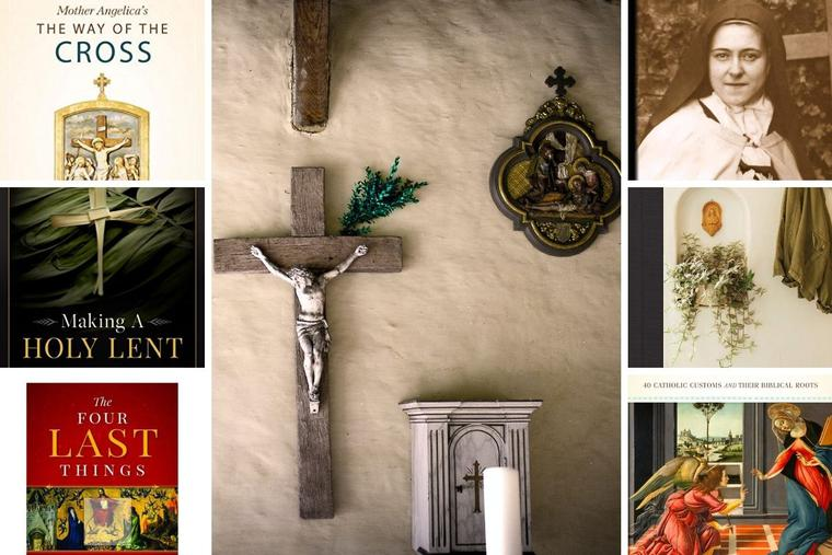 EWTN Religious Catalogue offers a variety of good reads for these 40 days.