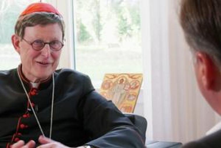 Archbishop of Cologne, Cardinal Rainer Woelki.
