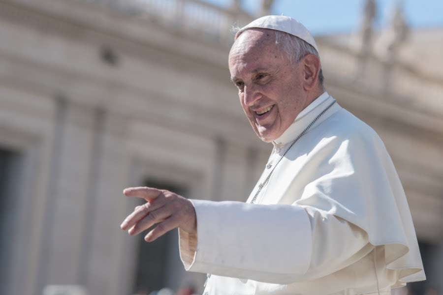 Pope Francis in St. Peter's Square on Oct. 22, 2016.