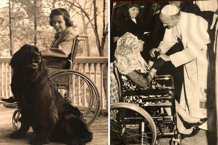 Karen Killilea led a full life, championing those with disabilities, training dogs, particularly Newfoundlands like Bonnie, and even meeting Pope St. Paul VI.