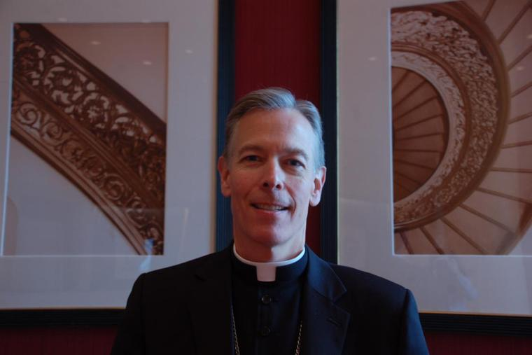Archbishop Alexander K. Sample of Portland at the USCCB Fall General Assembly Nov. 12, 2013.