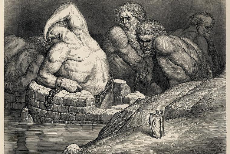 Gustave Doré's illustrations to Dante's Inferno.