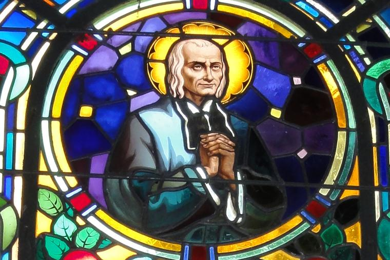 """""""Humility is to the various virtues what the chain is to a rosary: take away the chain and the beads are scattered; remove humility, and all virtues vanish."""" —St. John Vianney"""