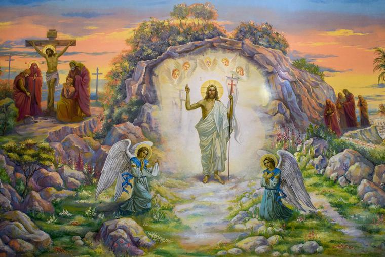 Our joy is rooted in the Risen Christ.