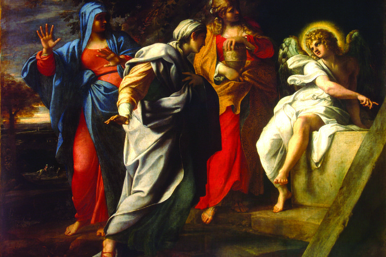 Annibale Carracci, 'Holy Women at Christ's Tomb,' 1590s