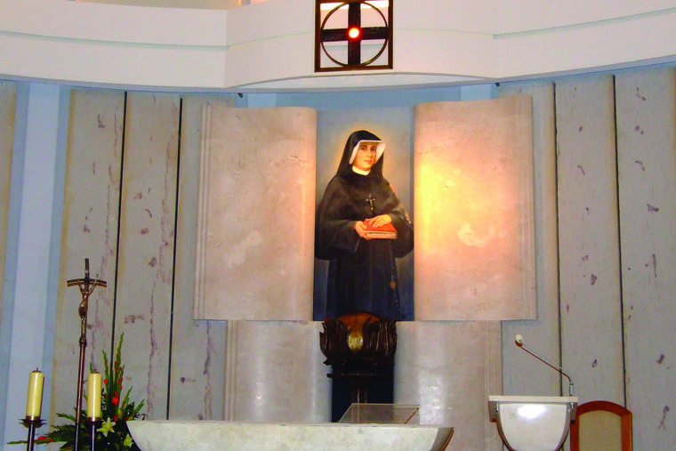 St. Faustina proclaimed the Divine Mercy message to the world.