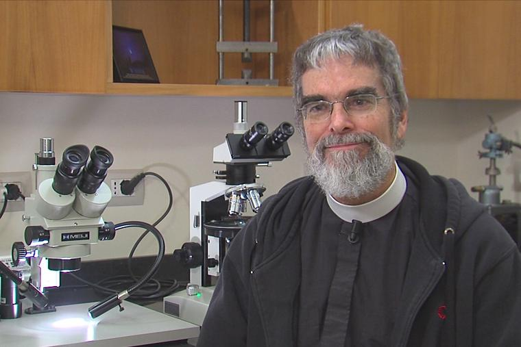 Br. Guy Consolmagno speaks with CNA on Nov. 22, 2013 at the Vatican Observatory in Rome.