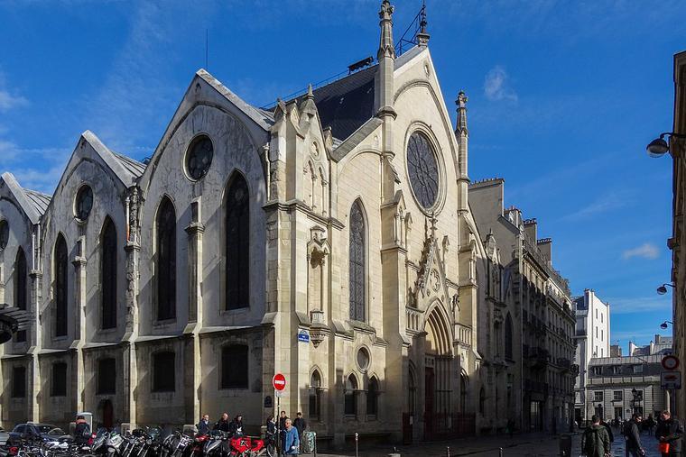 Sainte-Eugène-Sainte-Cécile church in Paris, France.