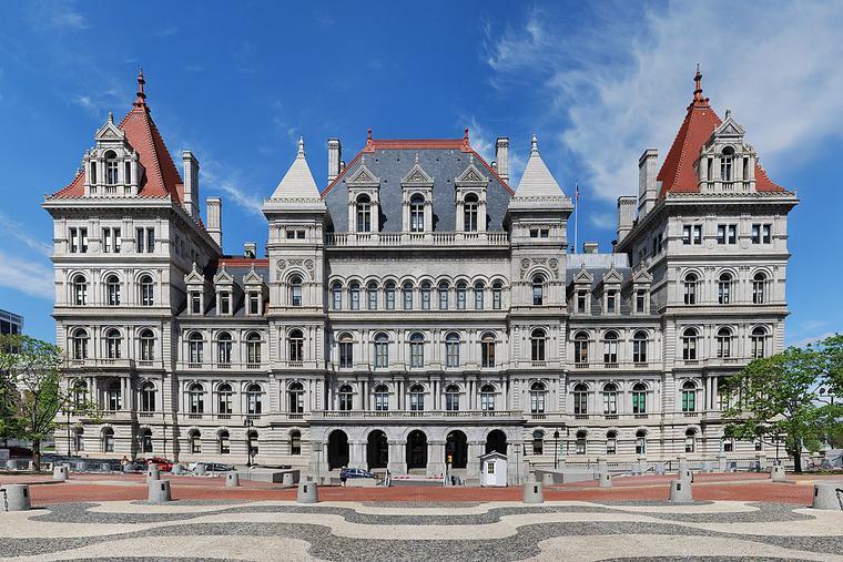 Statehouse in Albany, N.Y.