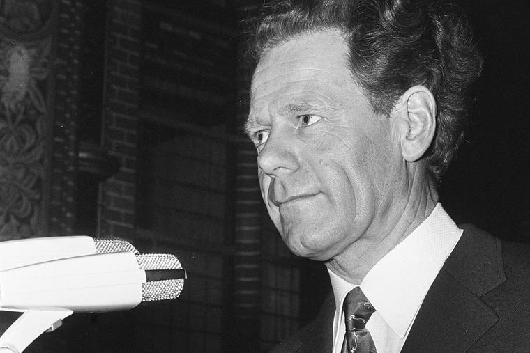 Hans Küng speaks Jan. 29, 1973, at Amsterdam's Dominicuskerk.