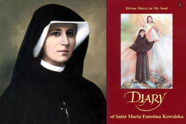 St. Faustina and her Diary