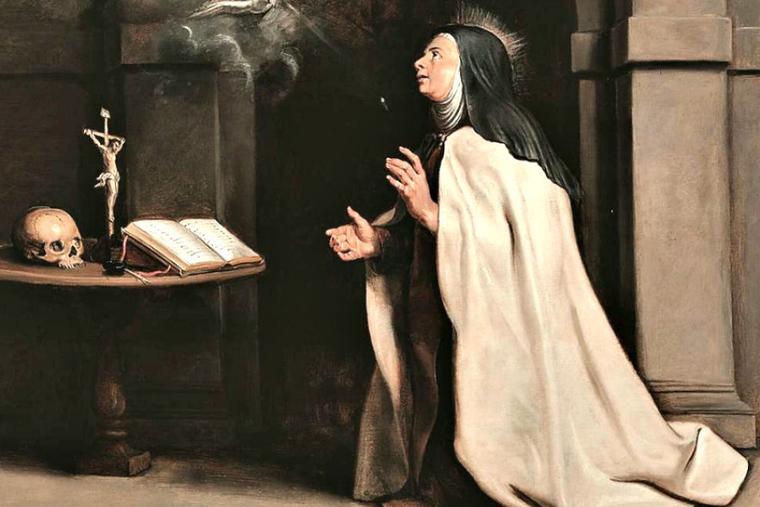 St. Teresa of Avila.