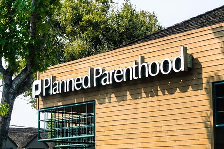Planned Parenthood facility in Mountain View, Calif.