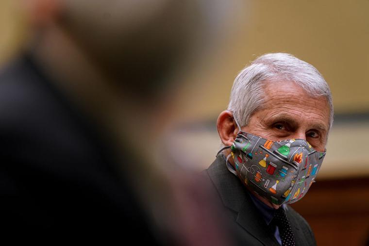 Dr. Anthony Fauci, director of the National Institute of Allergy and Infectious Diseases, slated to speak at the Vatican conference, pictured here during a Select Subcommittee On Coronavirus Crisis hearing in Washington on Thursday, April 15, 2021.