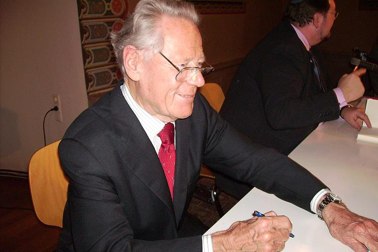 Hans Küng in Hechingen (2009).