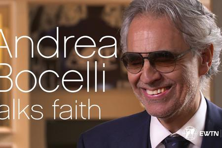 Andrea Bocelli Talks About His Catholic Faith: Don't Believe in the Clock Without the Clockmaker