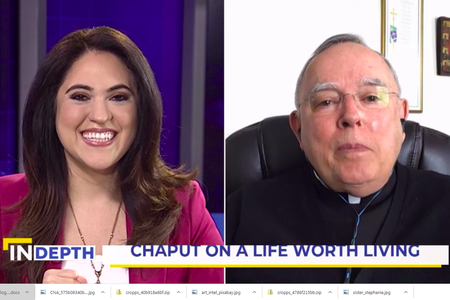 EWTN News in Depth Host Montse Alvarado talks with Archbishop Charles Chaput about his new book.